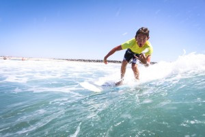 Tandice's son, Ian, 14, at Surf Camp during the summer of 2012.